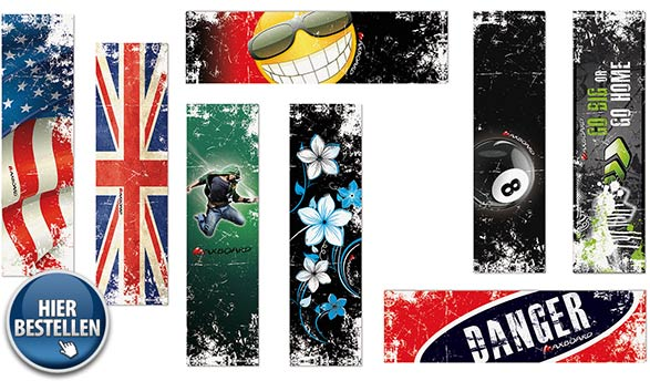 Griptape Designs Skateboard