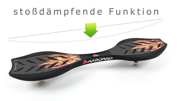 Maxboard Waveboard mit Federeffekt