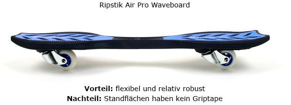 flexibles Ripstik Waveboard - Durch das flexible Material erzeugt das Ripstik beim Fahren einen Dämpfungs- und  Federeffekt