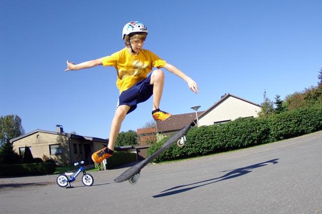 Waveboard Trick Ollie