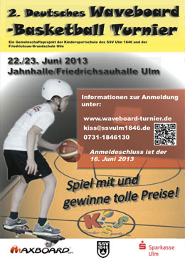 Waveboard Basketball Turnier in Ulm